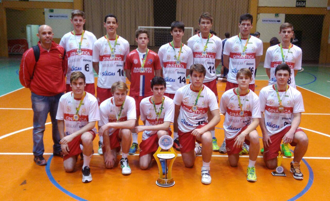 Equipes do vôlei da Ginástica trazem títulos da 1ª Copa Bento
