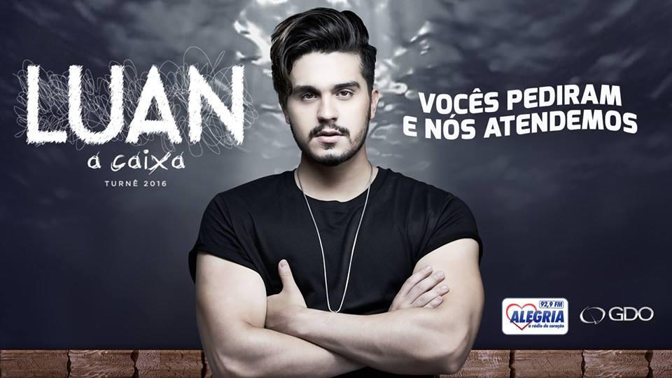 Confirmado Luan Santana na Ginástica