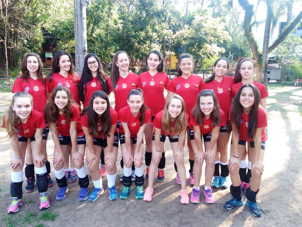 Final de semana intenso para o voleibol da Ginástica