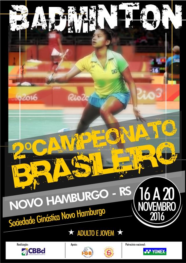 Ginástica será sede para o Campeonato Brasileiro de Badminton