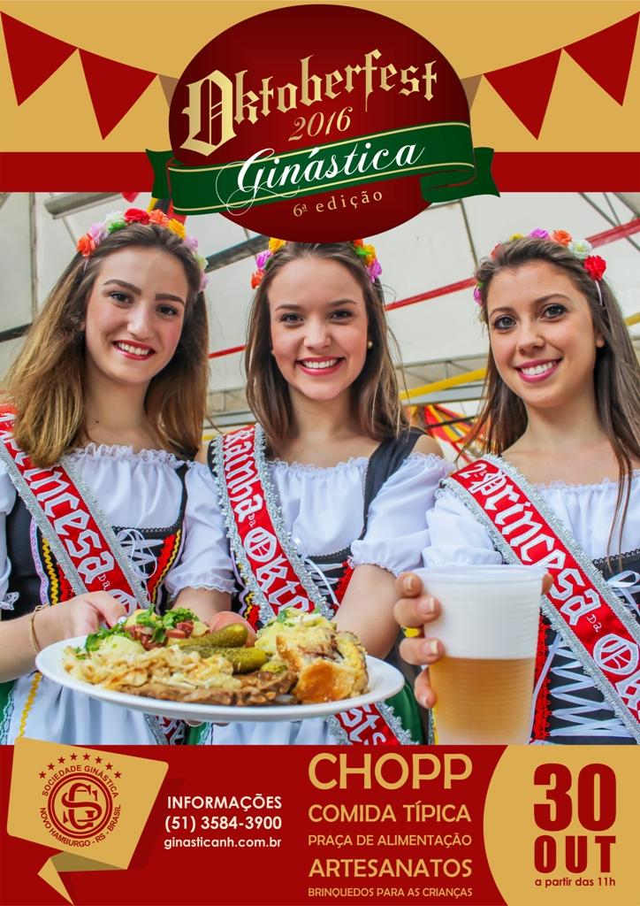 Tradição e diversão aguardam o público na Oktoberfest da Ginástica