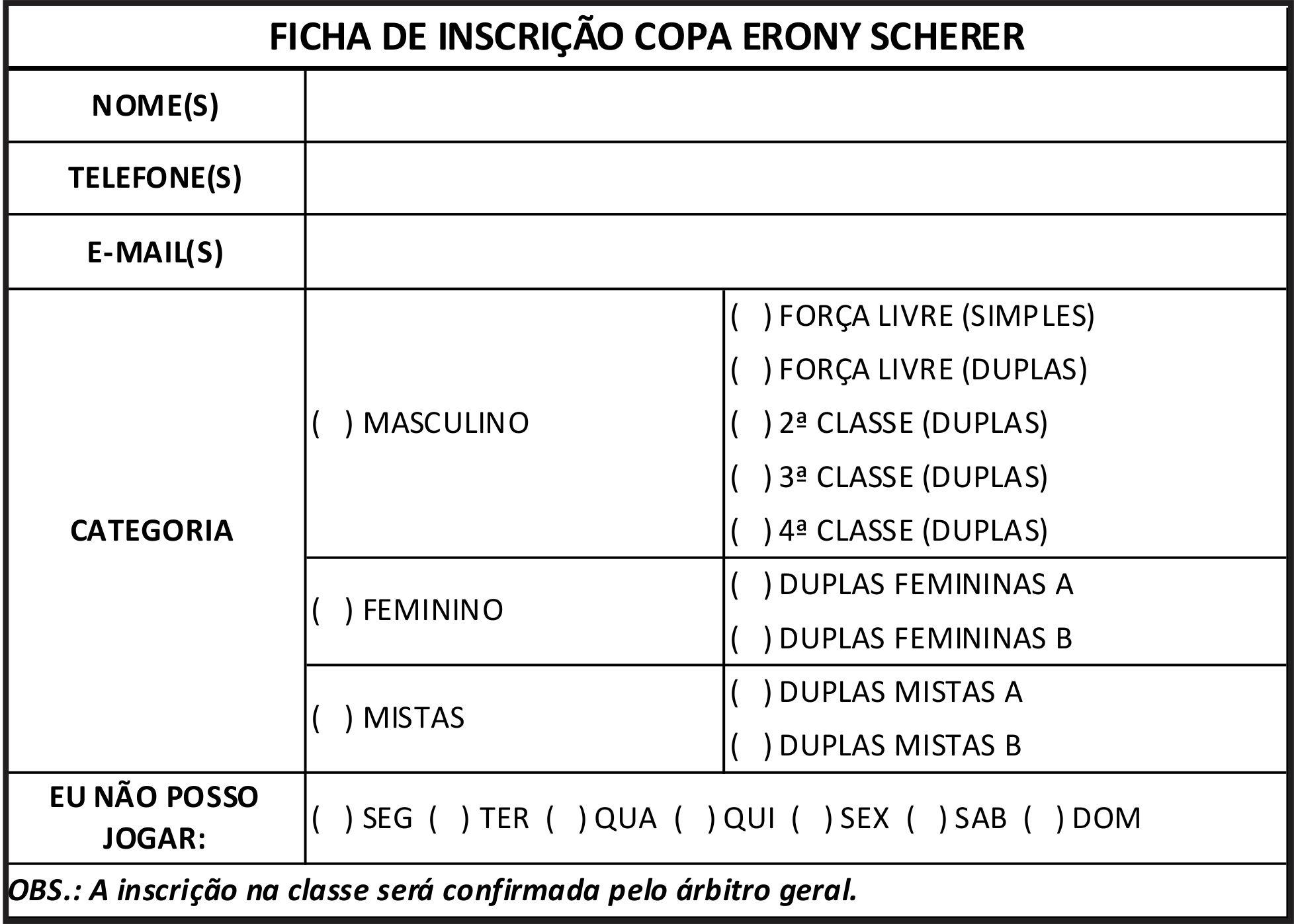 Suficiente Copa Erony Scherer de Tênis chega a 9ª edição | Sociedade  YK27