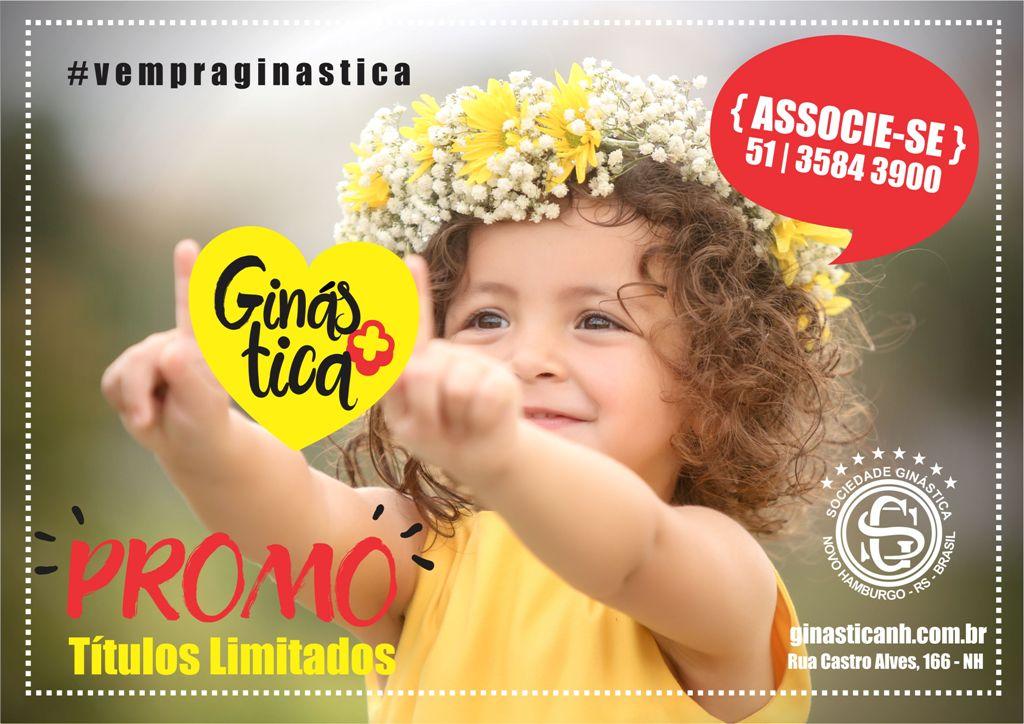 Campanha novos associados: GINÁSTICA +