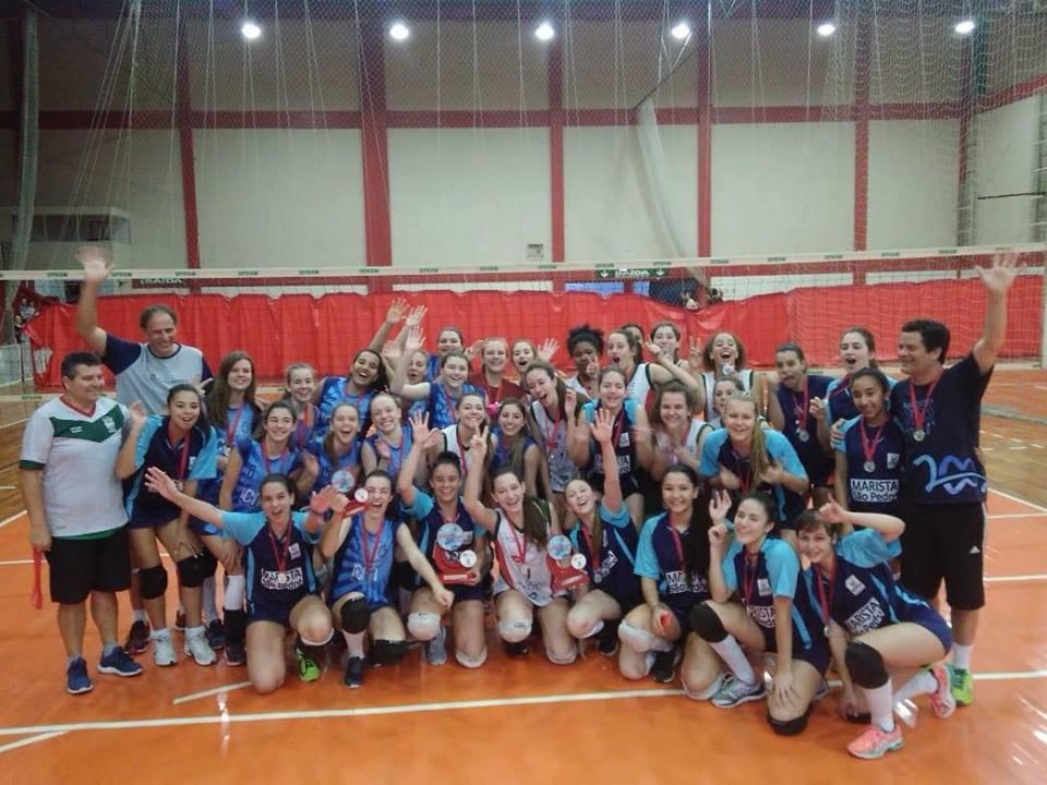 Definidos os campeões do Intercolegial de Voleibol