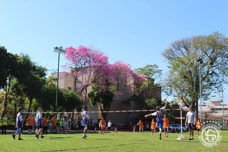 Olimpíada Escolar de Punhobol tem número recorde de participantes