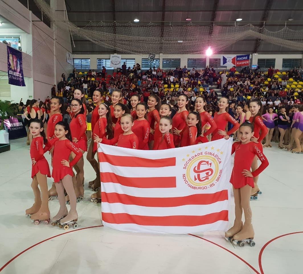 Ginástica conquista 10 medalhas na Copa Mercosul de Patinação