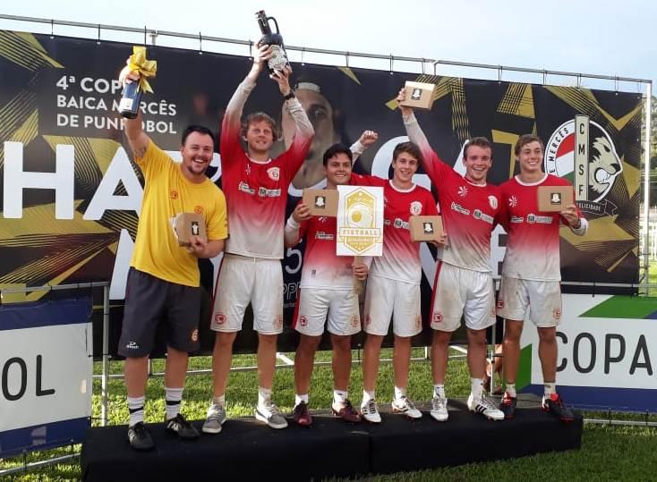 Punhobol Ginástica/Rissul traz títulos da primeira competição do ano