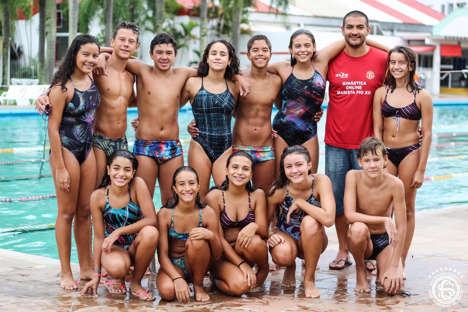 Atletas da Ginástica se classificam para o Brasileiro de Natação