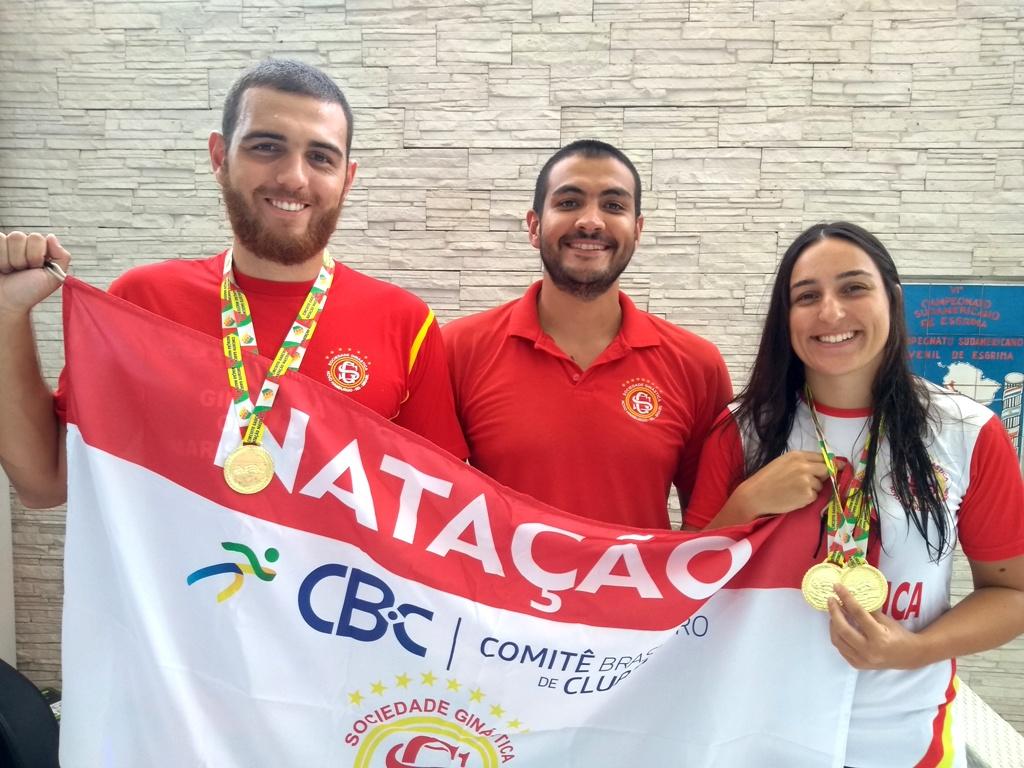 Natação Máster da Ginástica traz medalhas de competição