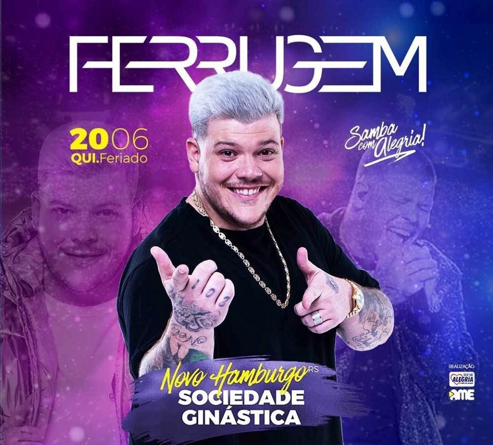 Ferrugem faz show na Ginástica