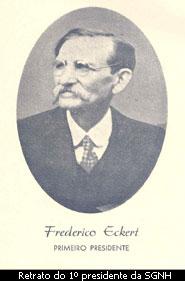 1º Presidente da SGNH - Frederico Eckert