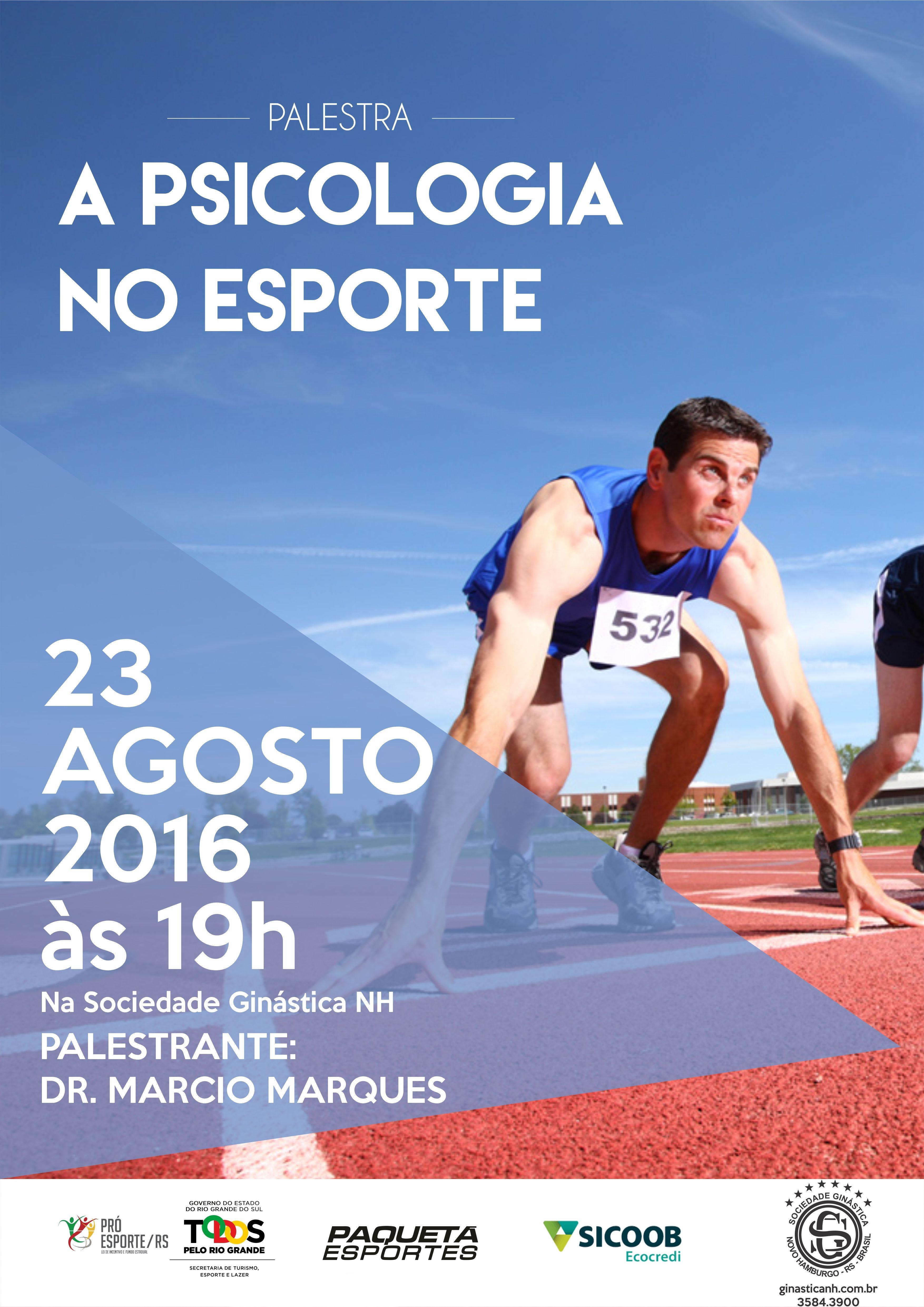 Voleisul/Paquetá Esportes promove palestra gratuita com especialista em psicologia aplicada ao esporte