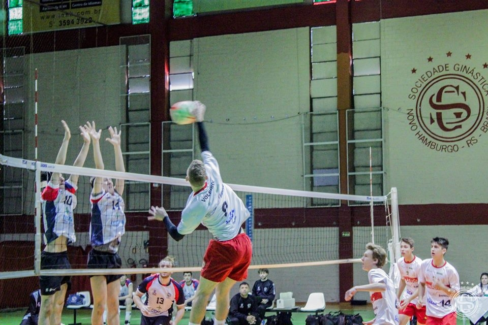 Equipe Infanto Masculina se recupera no Estadual de Voleibol