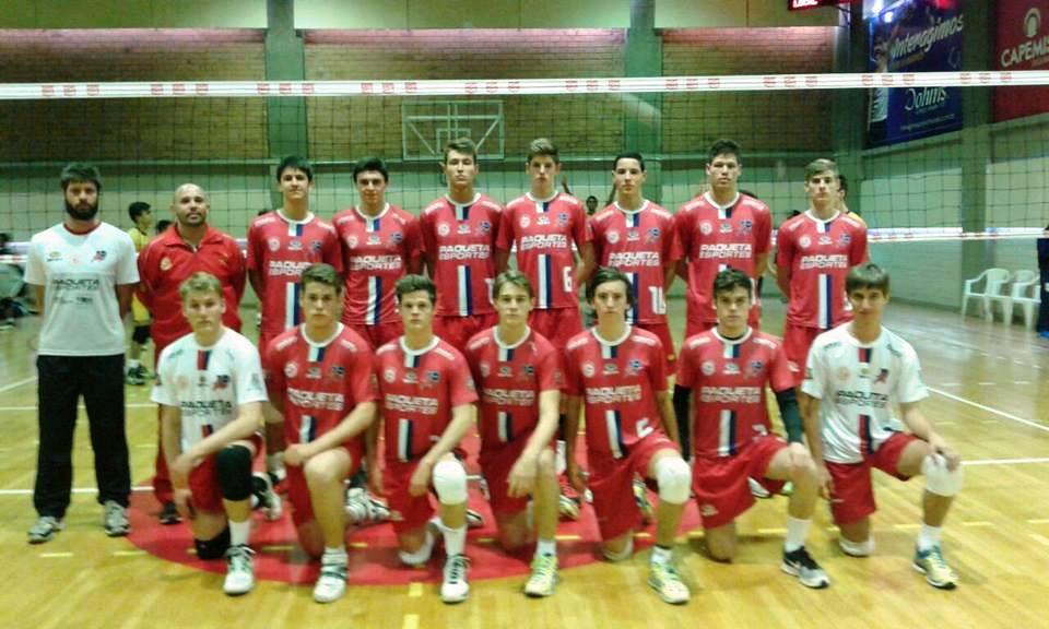 Infanto Masculino é vice-campeão da II Copa Sogipa de Voleibol