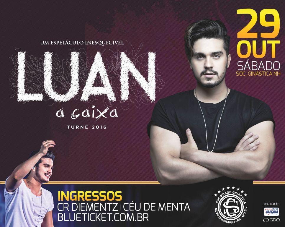 Luan Santana faz show 'A Caixa' na Ginástica