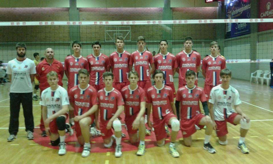 Infanto Masculino disputa final do Estadual de Voleibol /Série Prata