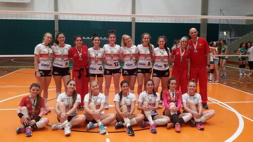 Equipe Infanto Feminina da Ginástica é vice-campeã do Estadual / Série Prata