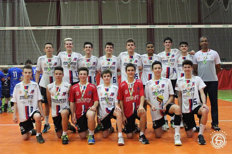 É CAMPEÃO! É CAMPEÃO! Equipe Infantil Masculino é campeã Gaúcha de Voleibol – Série Ouro