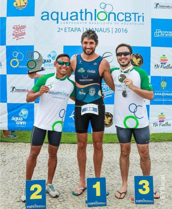 Ginasticano vence no Brasileiro de Aquathlon em Manaus