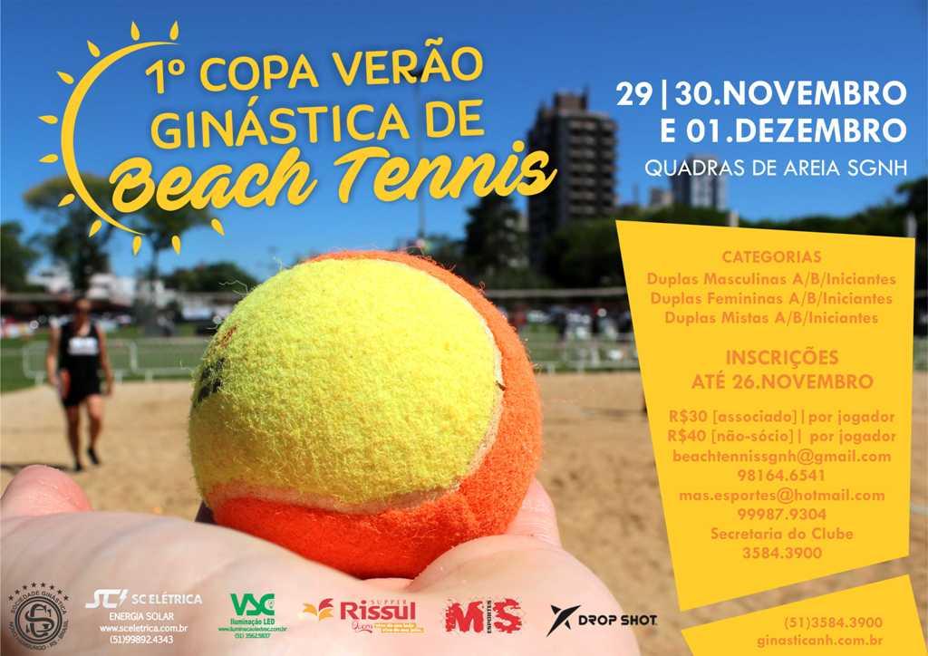 1ª Copa Ginástica de Beach Tennis