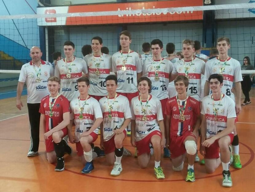 Equipe ginasticana é campeã do Estadual de Voleibol – Série Prata