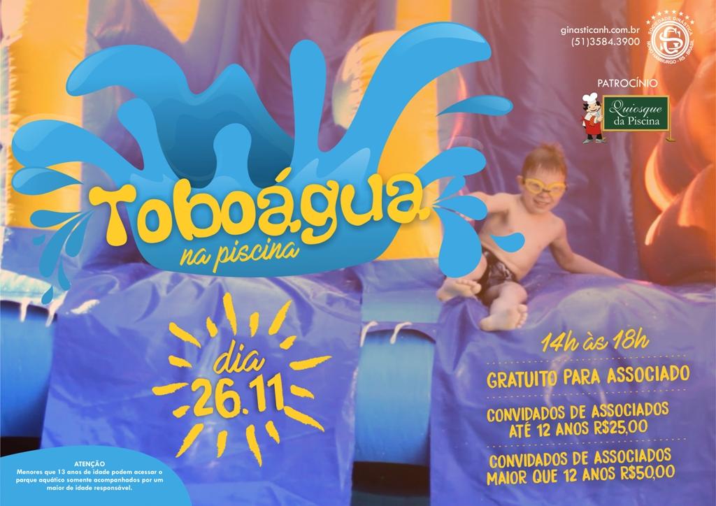 Toboágua está de volta à Ginástica