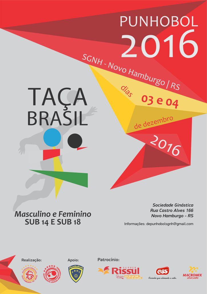 Taça Brasil de Punhobol reunirá atletas na Sociedade Ginástica
