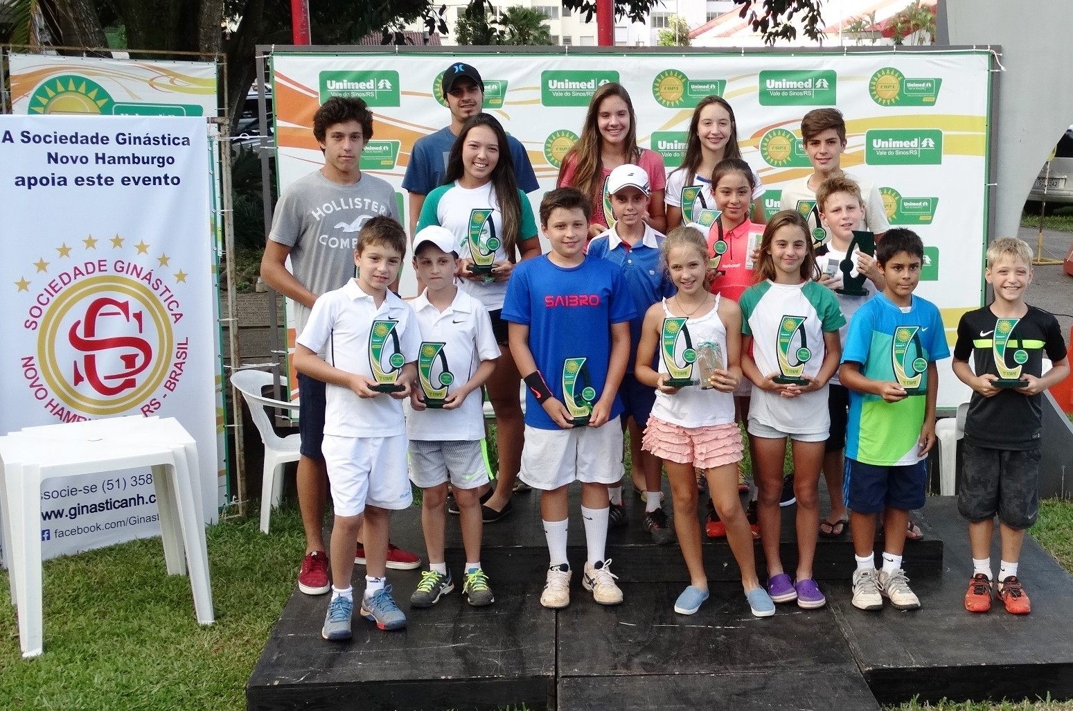 Inscrições abertas para a Copa Unimed VS de Tênis em Novo Hamburgo