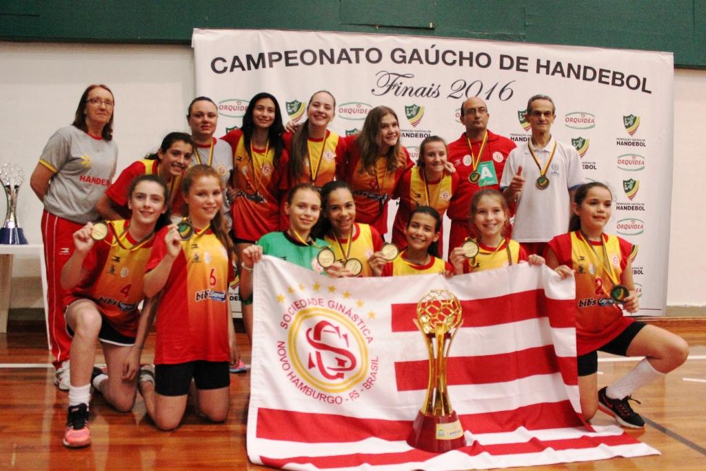 Equipes de Handebol da Ginástica são CAMPEÃS gaúcha em duas categorias
