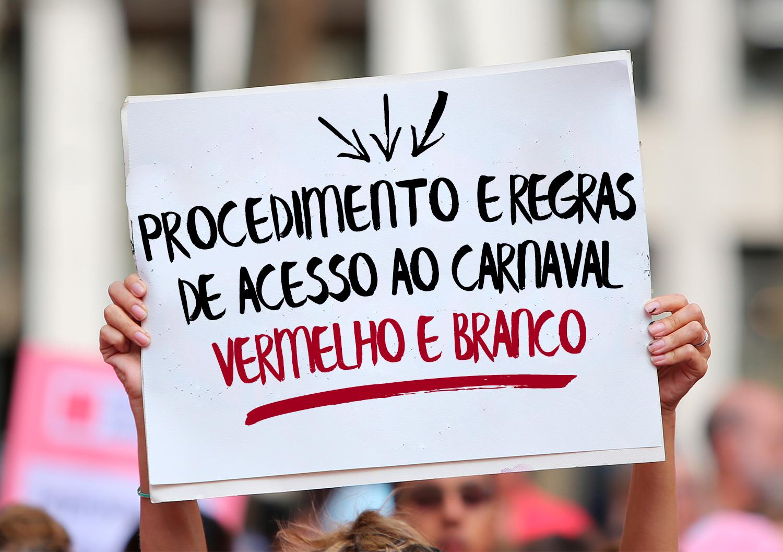 Procedimento Regras de Acesso ao Carnaval Vermelho e Branco