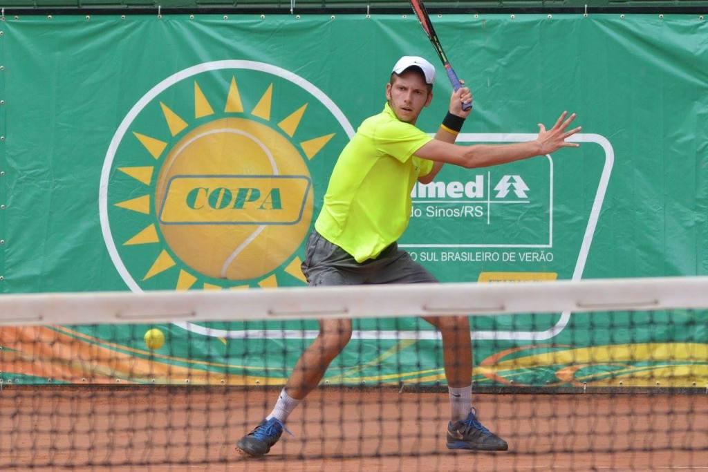 Copa Unimed VS de Tênis continua nesta quarta-feira