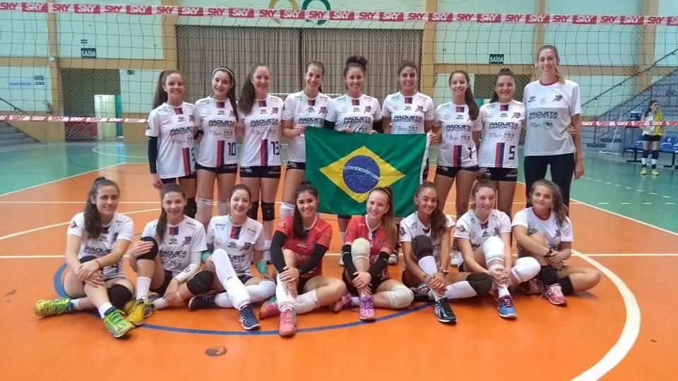 Equipes Ginástica/IENH trazem medalhas do Desafio Internacional de Voleibol