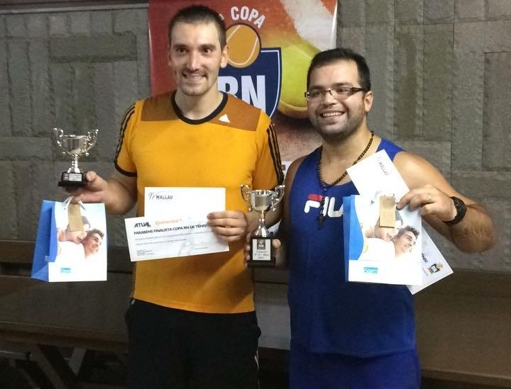 Ginasticano é campeão da 1ª Copa RN de Tênis