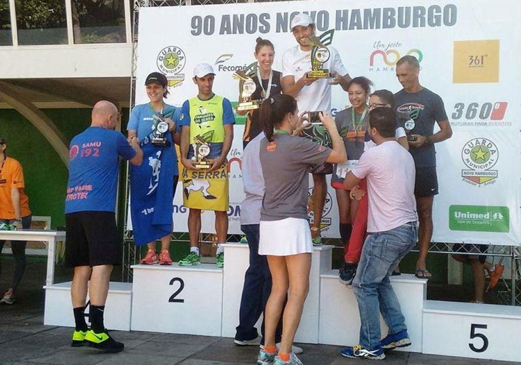 Ginasticano vence corrida de aniversário de Novo Hamburgo