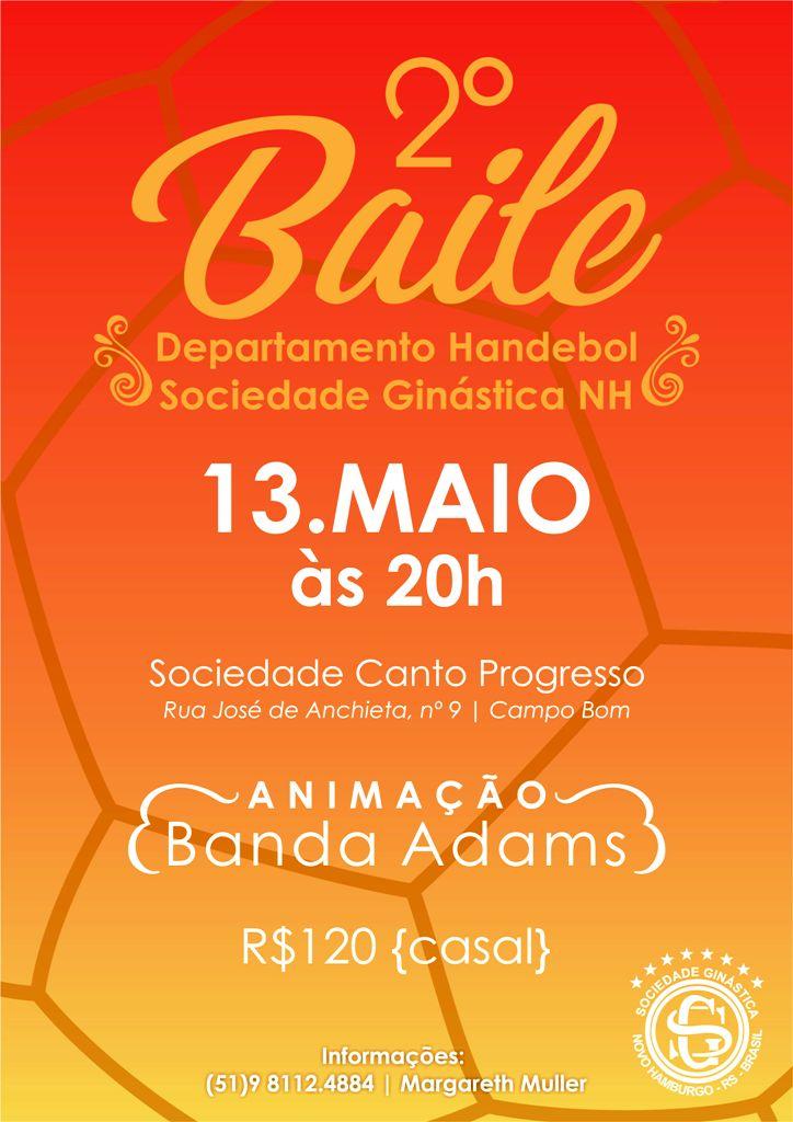 Baile do Handebol é neste sábado