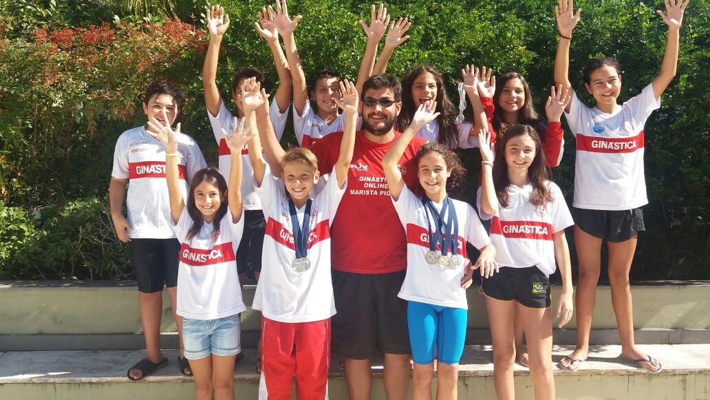 Ginástica é destaque no Torneio Sul Brasileiro de Natação