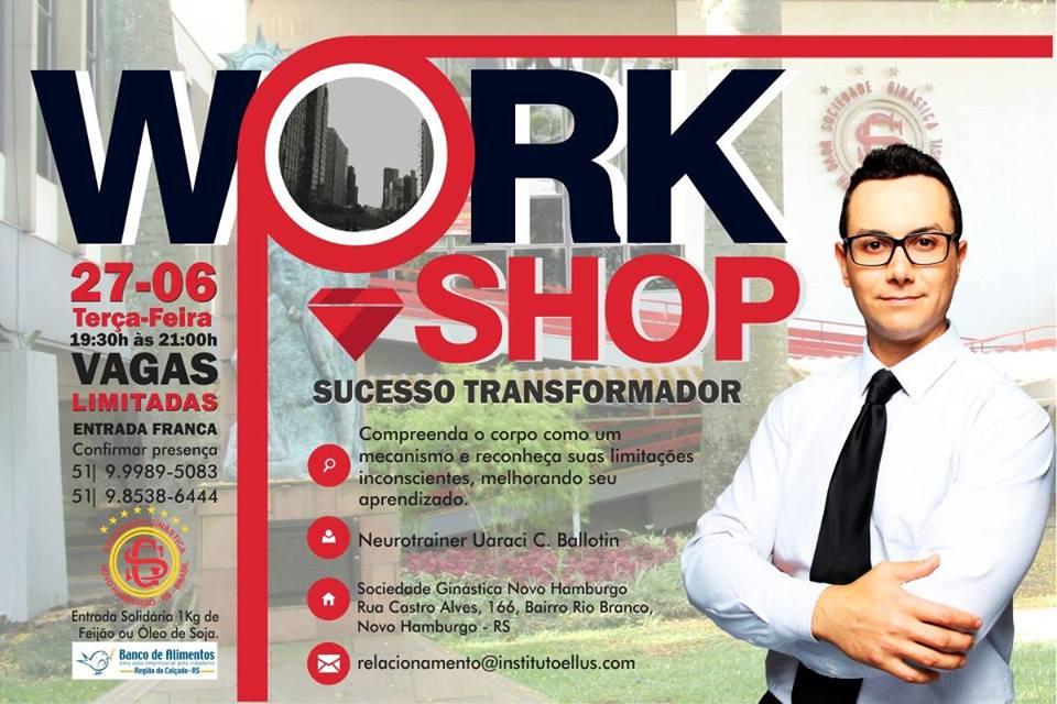 Junho tem workshop 'Sucesso Transformador' na Ginástica