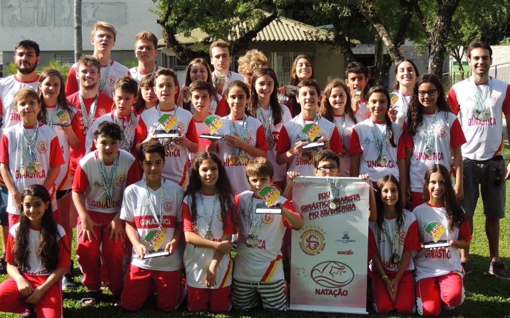 Natação da Ginástica conquista a 2ª colocação geral no Estadual