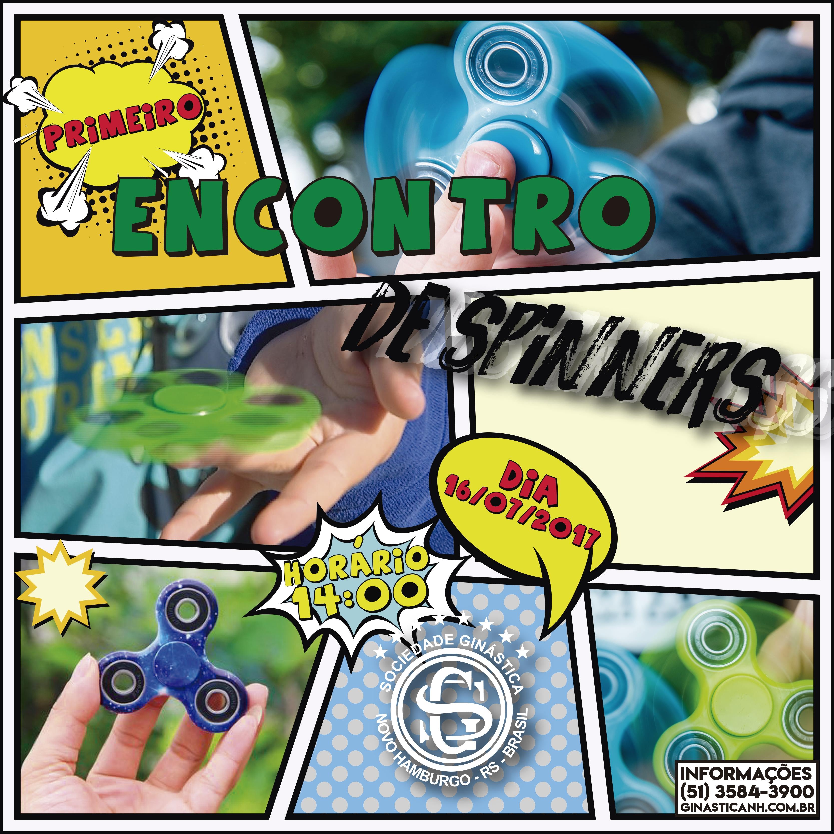 1º Encontro de Spinners acontece na Ginástica