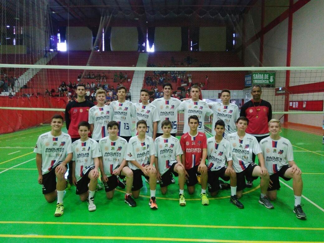 Equipe de Vôlei da Ginástica/IENH tem bons resultados na Copa Cláudio Braga