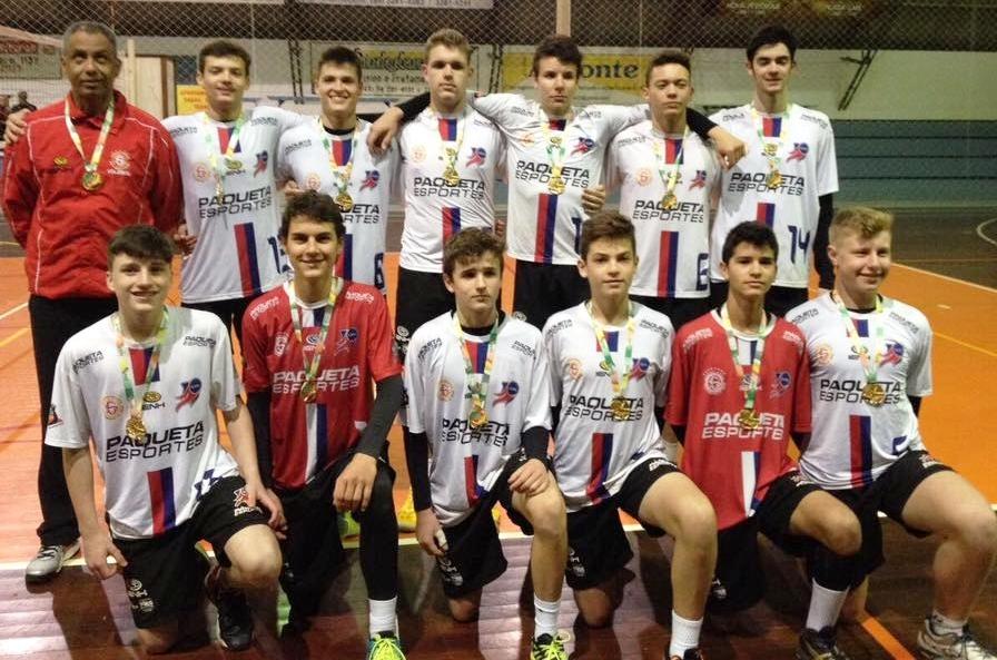 Equipe Infantil Masculina SGNH/IENH é campeã da Copa Cláudio Braga