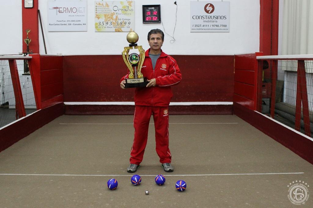 Ginasticano é campeão do Estadual de Bocha
