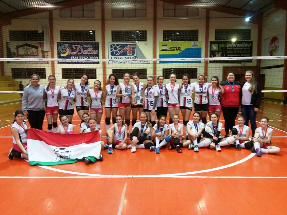Ginástica é campeã da Copa Teutônia de Voleibol