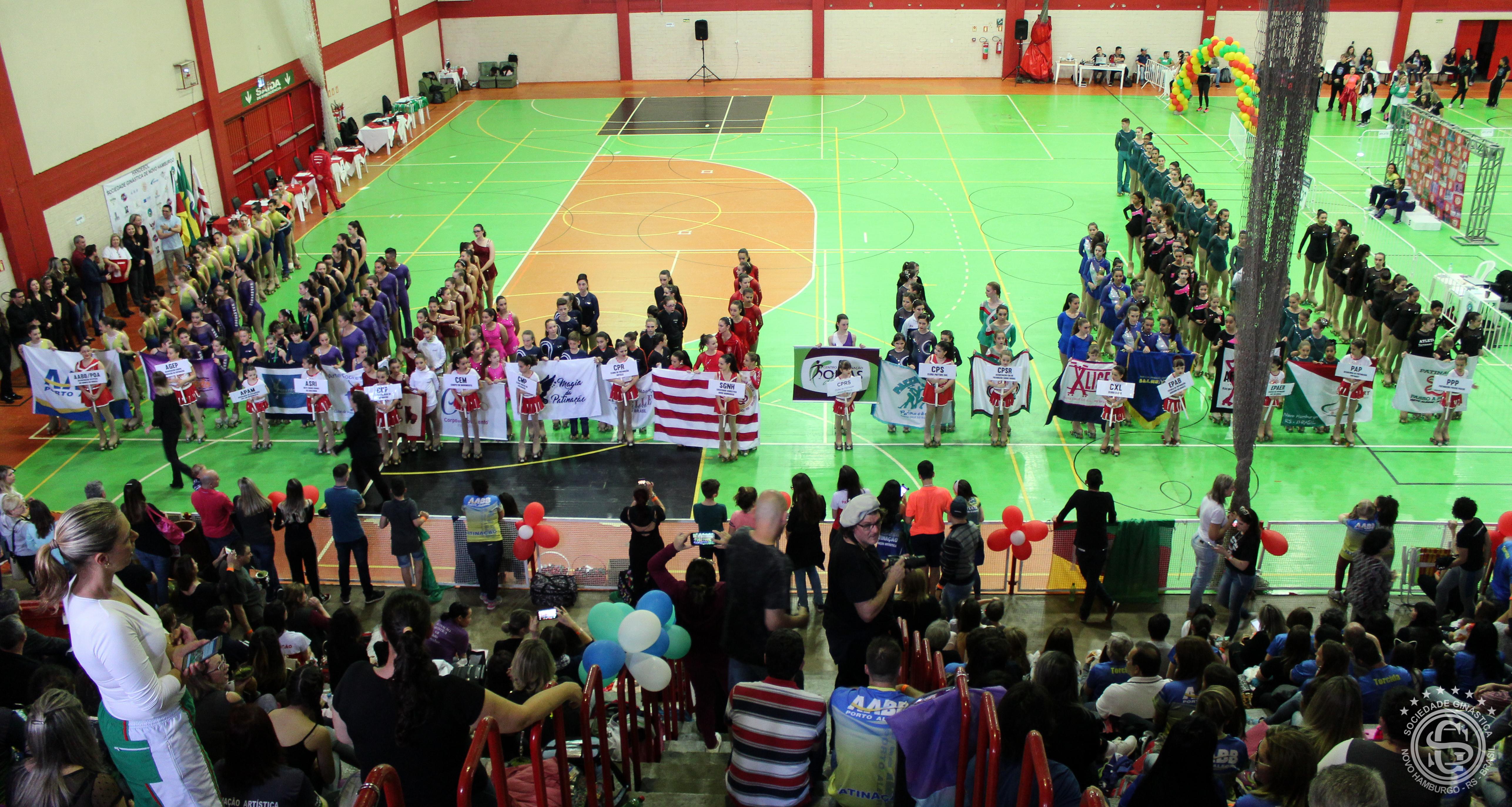 Ginástica sedia o Torneio Estadual de Patinação