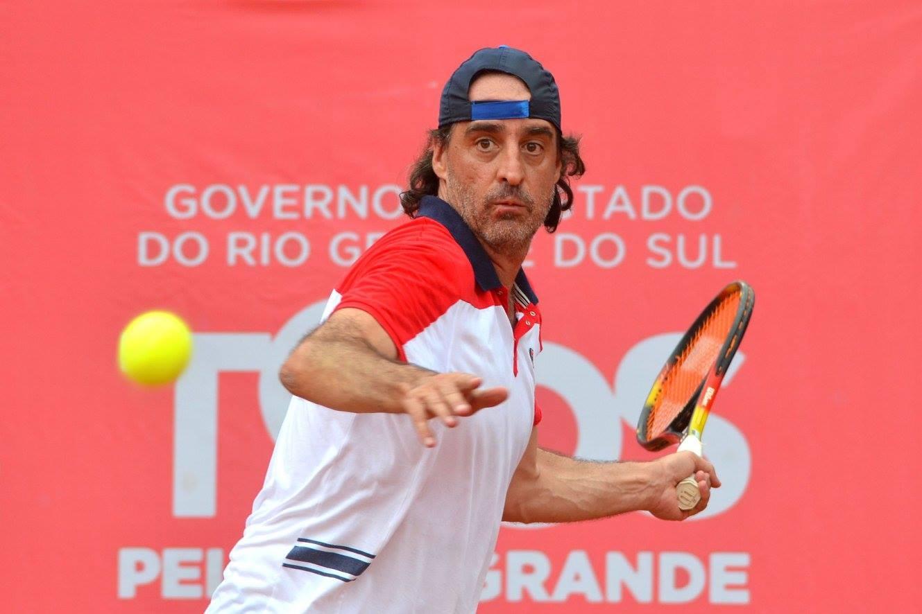 Copa Thomás Engel teve muito tênis e show de Fernando Meligeni