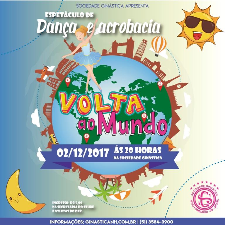 Uma volta ao mundo no espetáculo Dança e Acrobacia