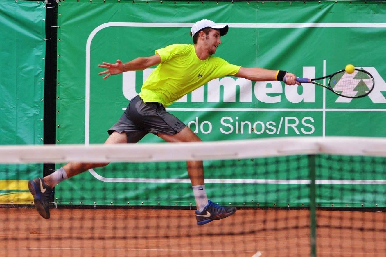 Ginástica sedia etapas do Sul Brasileiro de Tênis