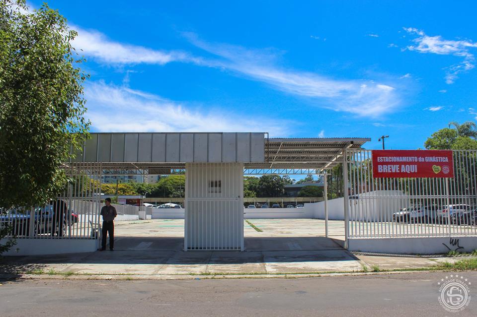 Novo estacionamento da Ginástica estará operando no final de semana
