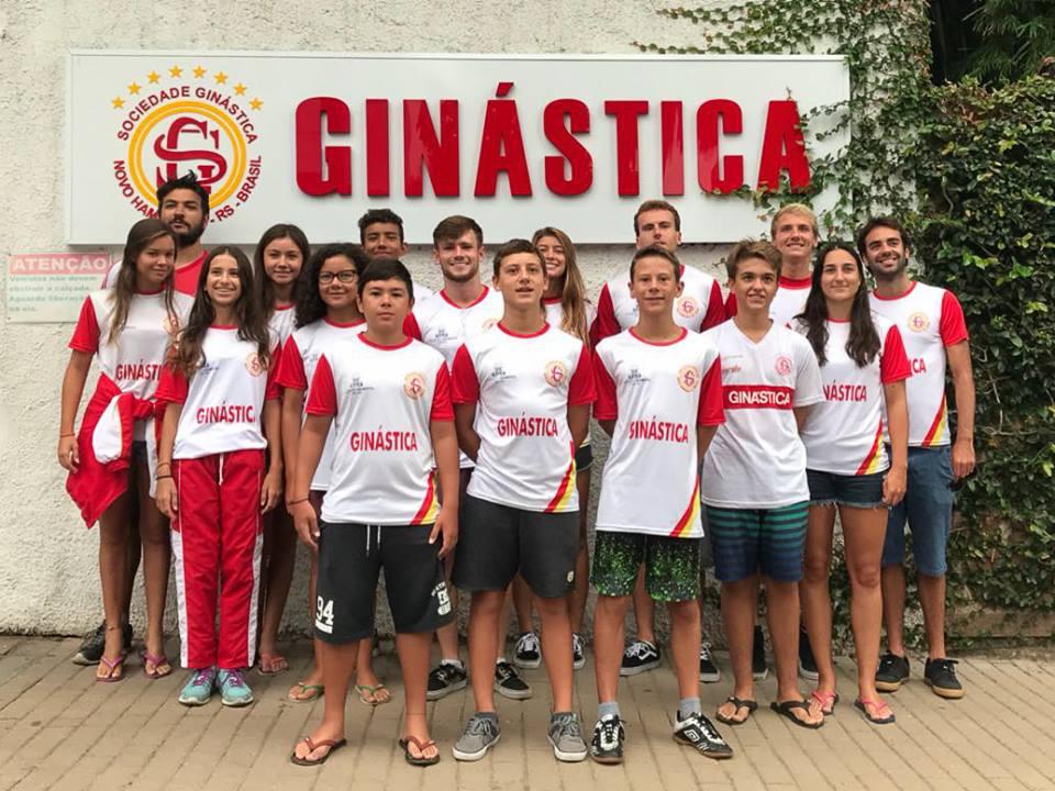 Natação Ginástica/Pio XII participa do Torneio de Abertura em Porto Alegre