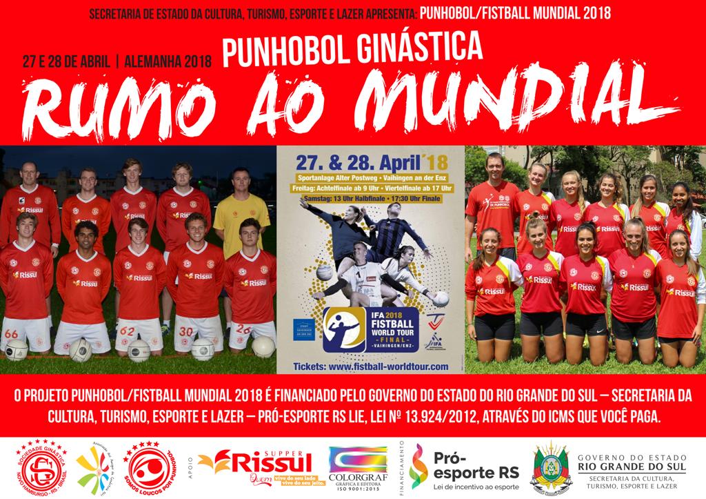 Projeto: Punhobol/Fistball Mundial 2018